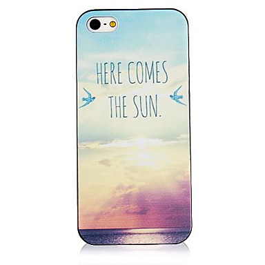 aici vine soare din spate de caz pentru iPhone 4 / 4S