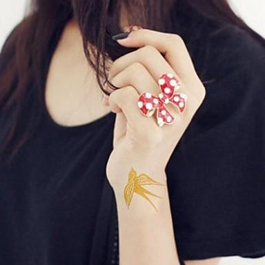 Acțibilde de Tatuaj Serie de Animale Strălucire Model Dame Girl Adolescent tatuaj flash Tatuaje temporare