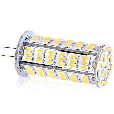 ywxlight® g4 126d 5w 3014smd condus bi-pini lumini rece alb condus lampa lampa de candelabru de porumb ac 220-240 v