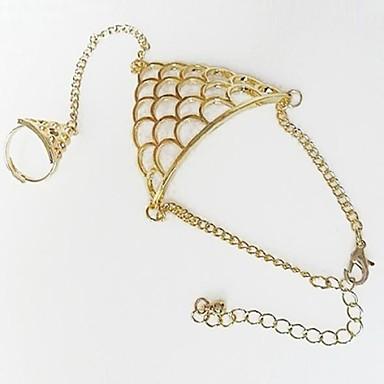 Pentru femei Ring Bracelets - Argintiu Auriu Brățări Pentru Zilnic