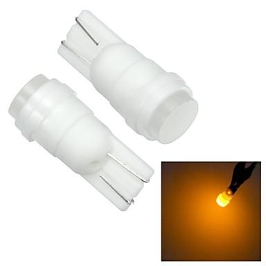 T10 Araba Sarı 1W Yüksek Performans LED 4000 Gösterge Işıkları Okuma Işığı Plaka Aydınlatma Lambası Sinyal Lambası Fren Işığı