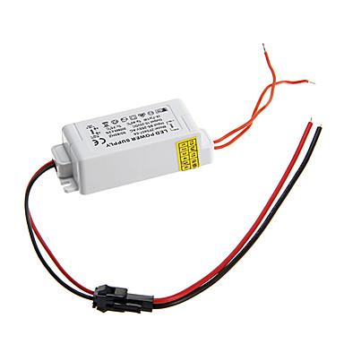 Led paneli lamba için ac 85-265V harici sabit akım güç kaynağı sürücüsü DC 10-25V 4-7W 0.3a