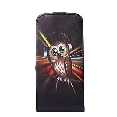 Pentru Carcasă iPhone 6 / Carcasă iPhone 6 Plus Titluar Card / Întoarce Maska Corp Plin Maska Bufniță Greu PU pieleiPhone 6s Plus/6 Plus