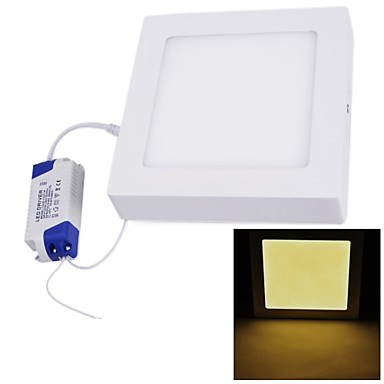 12W Tavan Işıkları Gömme Uyumlu 60 SMD 2835 1000 lm Sıcak Beyaz AC 85-265 V