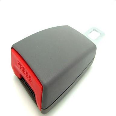 araba emniyet kemeri emniyet kemerleri genişletici artık toka güvenlik uzantısı 8cm -gray
