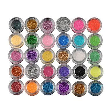 30 Renk Göz Farları / Pudralar Göz Makijaż imprezowy Günlük Makyaj Kozmetik