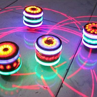 billige Håndspinnere-træ farverige musik gyro børn legetøj