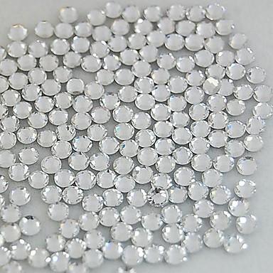 1400pcs 2.5mm decorare stras sclipici cristal unghii