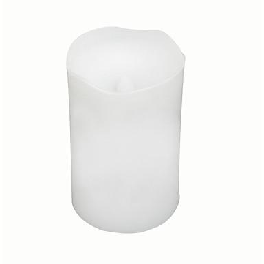 1 buc Becuri LED Lumânare LED-uri de margele LED Putere Mare Decorativ / Lumină de noapte / Decorațiuni Luminoase / Baterie