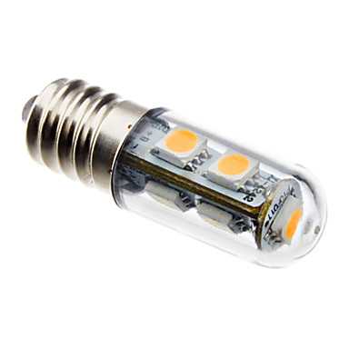 1 buc 1 W Becuri LED Corn 60 lm E14 T 7 LED-uri de margele SMD 5050 Decorativ Alb Cald 100-240 V / RoHs