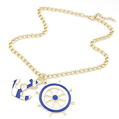Women's Pendant Necklace Alloy Pendant Necklace , Daily
