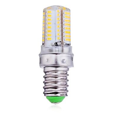 300 lm E14 LED Λάμπες Καλαμπόκι 64 LED χάντρες SMD 3014 Θερμό Λευκό / Ψυχρό Λευκό 220-240 V / RoHs