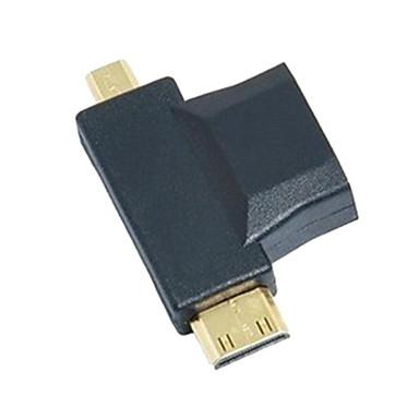 3-in-1 HDMI la Micro HDMI Mini HDMI Adaptor convertor