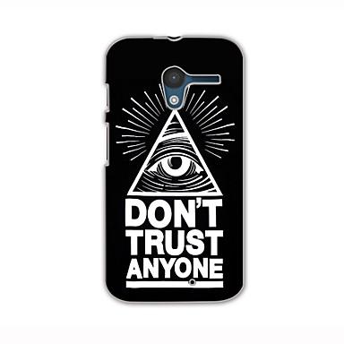 μάτια μοτίβο σκληρό περίπτωση για Motorola x περιπτώσεις τηλέφωνο / καλύμματα για Motorola