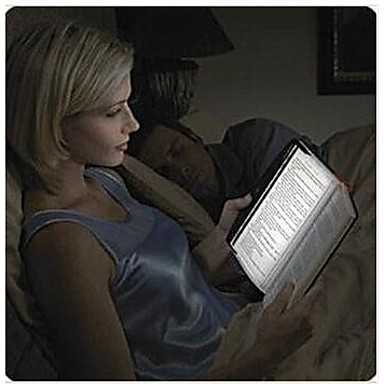 led light lamp panel wedge voor reizende leesboek in auto / bed paperback nacht