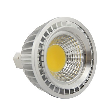 gu5.3 (mr16) led par ışıkları par20 1 cob 500lm sıcak beyaz 2800-3200k dc 12 ac 12v