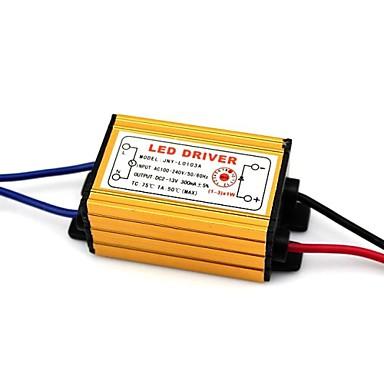 ac dc 100-240v να 2-13v (1-3) x1w οδήγησε οδηγού οροφής παροχής μετασχηματιστή ρεύματος