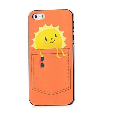 caso difícil padrão sol para iPhone 5 / 5s