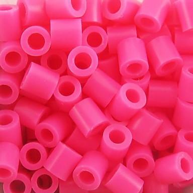 Approx 500PCS/Bag 5MM Rose Fuse Beads Hama Beads DIY Jigsaw EVA Material Safty for Kids Craft