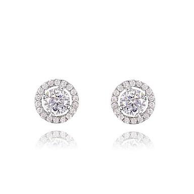 Γυναικεία Κουμπωτά Σκουλαρίκια Μοντέρνα Κρύσταλλο Επιχρυσωμένο Κοσμήματα Γάμου Πάρτι Καθημερινά Causal Κοστούμια Κοσμήματα