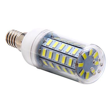 3.5W 250-300lm E14 LED Mısır Işıklar T 48 LED Boncuklar SMD 5730 Doğal Beyaz 220-240V
