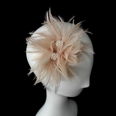Κρύσταλλο Δερμάτινο Ύφασμα Τιάρες Γοητευτικά 1 Γάμου Ειδική Περίσταση Πάρτι / Βράδυ Headpiece
