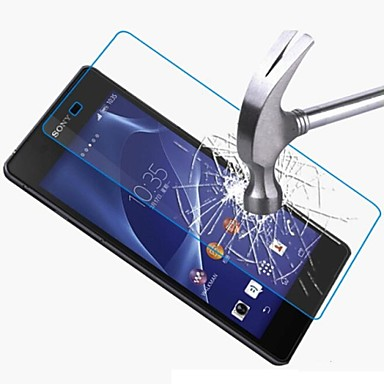 πριμοδότηση μετριάζεται γυάλινη οθόνη προστατευτικό φιλμ για Sony Xperia z2 L50W