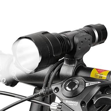 פנס LED פנס קדמי לאופניים LED רכיבת אופניים מיקוד מתכוונן 18650 Lumens סוללהמחנאות/צעידות/טיולי מערות שימוש יומיומי רכיבה על אופניים ציד