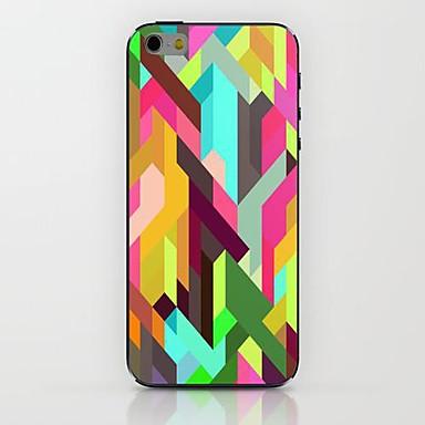 coloridas listras hard case padrão para iphone 6