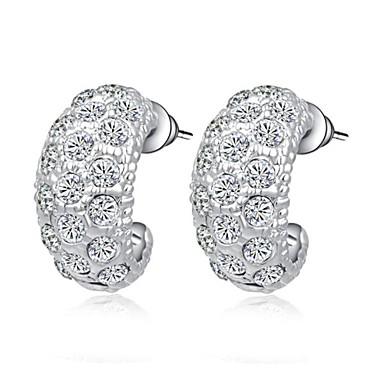 Dames Kristal Verguld Oorknopjes - oorbellen Voor Bruiloft Feest Dagelijks Causaal