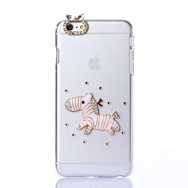 diy rennend paard met strass patroon plastic hard hoesje voor iPhone 6 plus