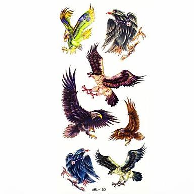 waterdichte eagle tijdelijke tattoo sticker tattoos monster mal voor body art (18.5cm * 8,5 cm)