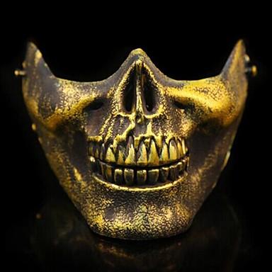 1pc Kunststoff Halloween-Masken Masken
