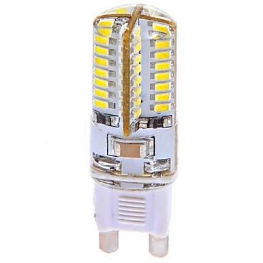 G9 LED Λάμπες Καλαμπόκι T 64 leds SMD 3014 Ψυχρό Λευκό 360lm 6000-6500K AC 100-240V