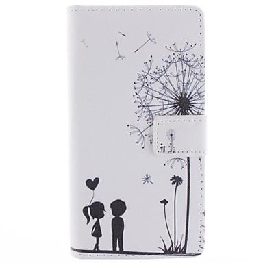 Pentru Carcasă HTC Titluar Card / Portofel / Cu Stand / Întoarce Maska Corp Plin Maska Desen animat Greu PU piele HTC