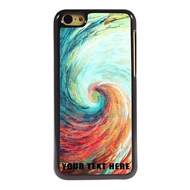 gepersonaliseerde telefoon case - vortex ontwerp metalen behuizing voor de iPhone 5c