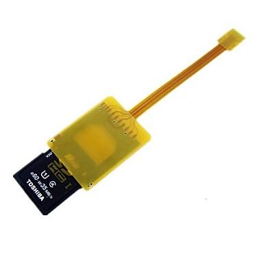 micro sd tf geheugenkaart kit man naar sd vrouwelijke uitbreiding zachte platte fpc kabel extender 10cm