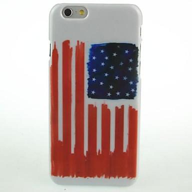 Για Θήκη iPhone 6 / Θήκη iPhone 6 Plus Με σχέδια tok Πίσω Κάλυμμα tok Σημαία Σκληρή PC iPhone 6s Plus/6 Plus / iPhone 6s/6