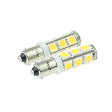 BA9S Motor Automatisch Trucks & Trailers Warm Wit 7W SMD LED Topkwaliteit LED 3000-3500Zijmarkeringslichten Richtingaanwijzer Remlicht