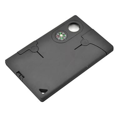 10-em-1 cartão da carteira de crédito de auto defesa faca ferramentas multi-função