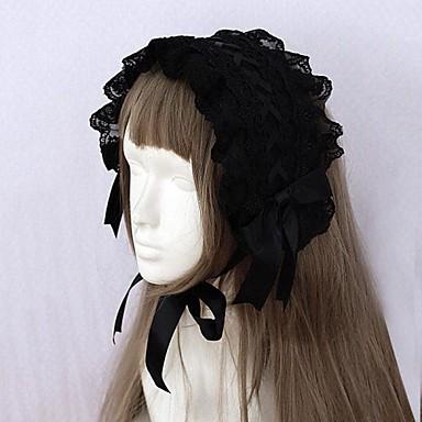 Bijuterii Lolita Stil Gotic Veșminte de cap Lolita Accesorii Pentru Dantelă Satin