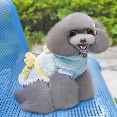 Hunde - Winter - Baumwolle Blau / Rosa - Mäntel - S / M / L / XL / XXL