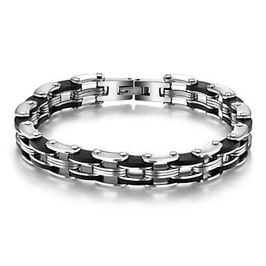 Pentru femei Bratari de tenis Oțel titan Argintiu Bijuterii Zilnic Casual Costum de bijuterii