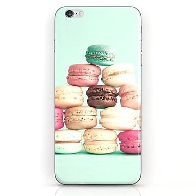 kleurrijke taart patroon harde case inham voor iPhone 6