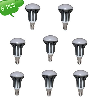 E14 LED-spotlampen R50 15 leds SMD 3022 Warm wit 720lm 3000K AC 85-265V