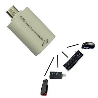 micro usb host-male naar USB vrouwelijke OTG-adapter android tablet pc en telefoon