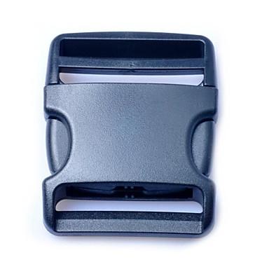clipe de cinto cinta da bagagem liberação lado fivelas de plástico 50 milímetros preto (pacote 1piece)