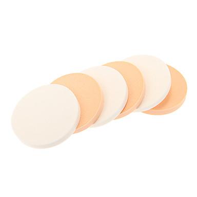 6pcs kleine droog en nat gebruik make-up bladerdeeg