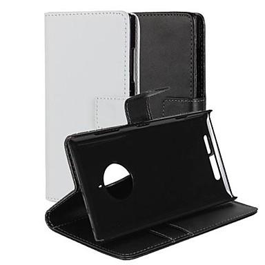 Hülle Für Nokia / Nokia Lumia 830 Nokia Hülle Geldbeutel / Kreditkartenfächer / mit Halterung Ganzkörper-Gehäuse Solide Hart PU-Leder für