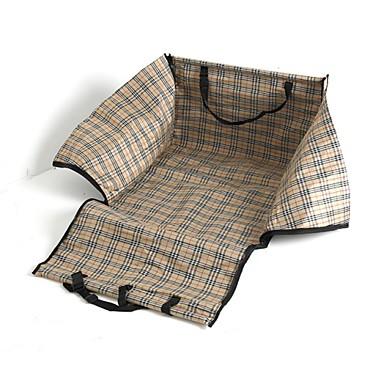 Perro Cobertor de Asiento Para Coche Mascotas Cestas Impermeable Plegable Azul Oscuro Rojo Verde Azul Rosa